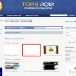 De 0 a 100 está no Top 3 do Top Blog 2012!