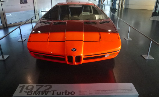 BMW Turbo 1972 Museum