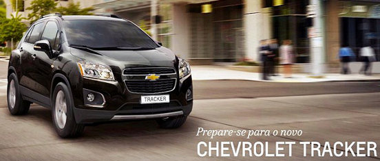 Chevrolet Tracker Enjoy Trax SUV 2013 2014 novo General Motors