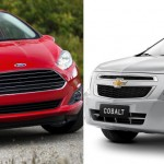 Duelo 2014: Ford New Fiesta Sedan 1.6 X Chevrolet Cobalt 1.8