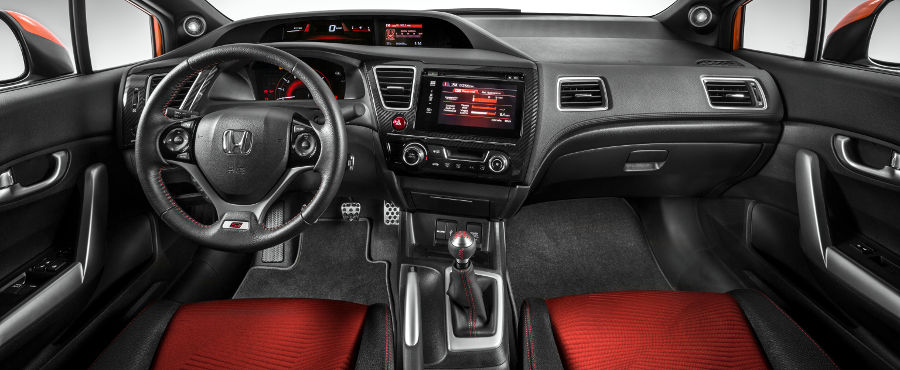 2011 Honda Civic Si Interior Photos
