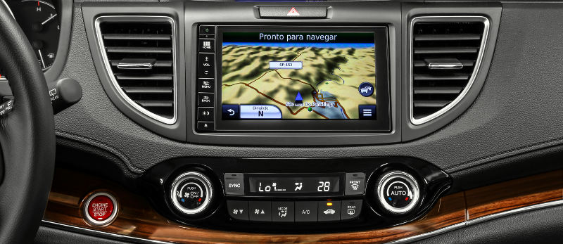 Honda cr v exl automatico painel gps 2015 de 0 a 100de 0 for Honda crv exl with navigation