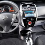 Nissan-March-automatico-CVT-2017-cambio-painel