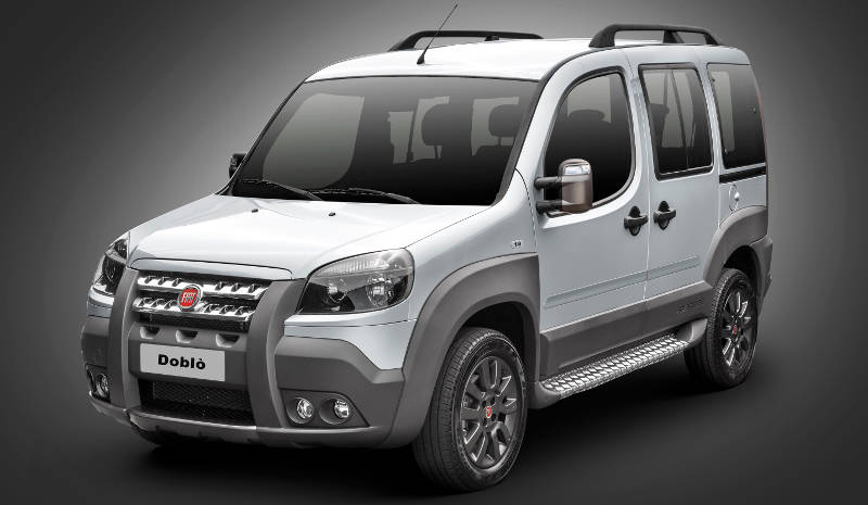 Foto do Fiat Doblo Adventure 2017