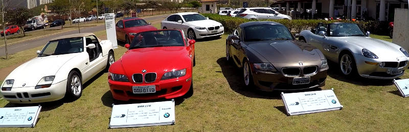 BMW Ultimate Experience carros classicos