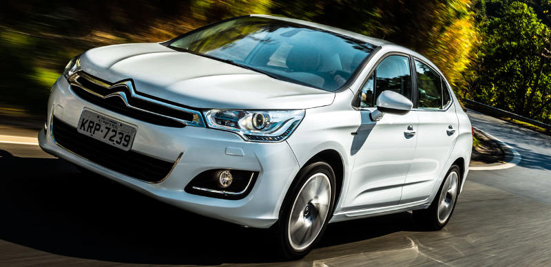 Foto do Citroen C4 Lounge THP na versão Exclusive 2017