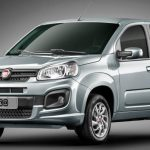 Foto do visual do Fiat Uno Attractive 2017