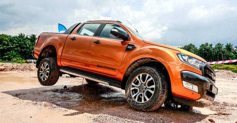 Ford Ranger Wildtrak no off-road