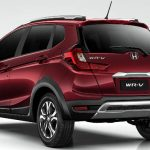 Visual da traseira do Honda WR-V