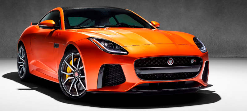 Foto do Jaguar F-Type SVR V8