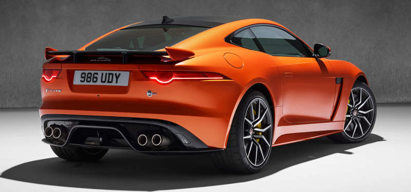 Jaguar F Type Svr Sports Car