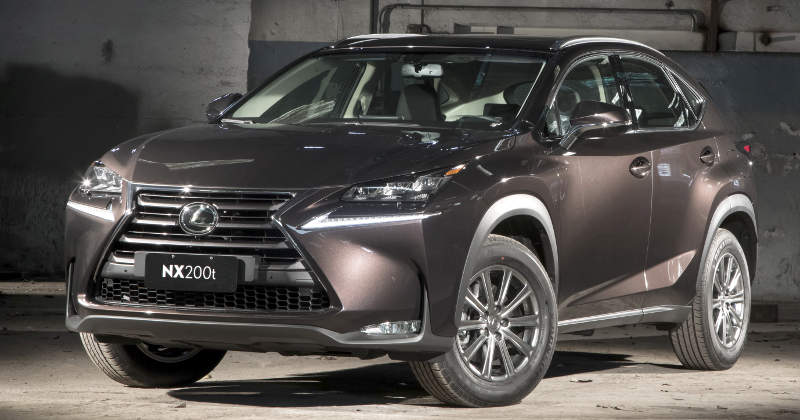 Foto do Lexus NX200t