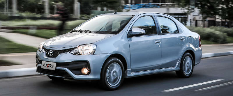 Visual do Toyota Etios sedã 2018