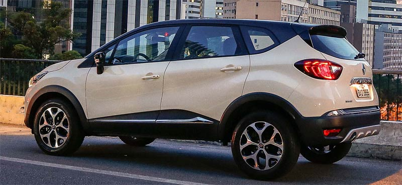 Visual do Renault Captur Intense