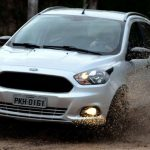 Foto do Ford Ka Trail 2018 no fora de estrada