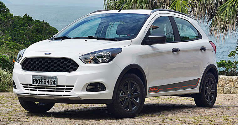 Visual do Ford Ka Trail 2018