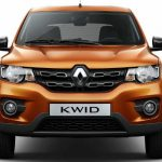 Dianteira do Renault Kwid Intense 2018