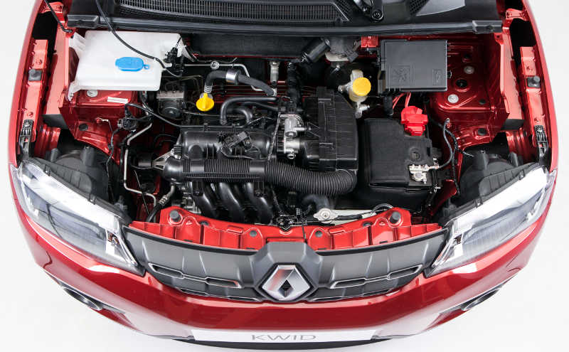 Motor 1.0 SCe do Renault Kwid Intense 2018