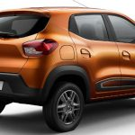 Traseira do Renault Kwid Intense 2018