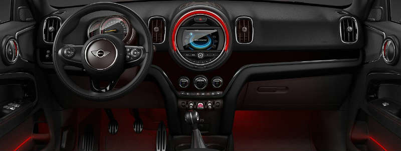 Painel do novo Mini John Cooper Woks Countryman ALL 4