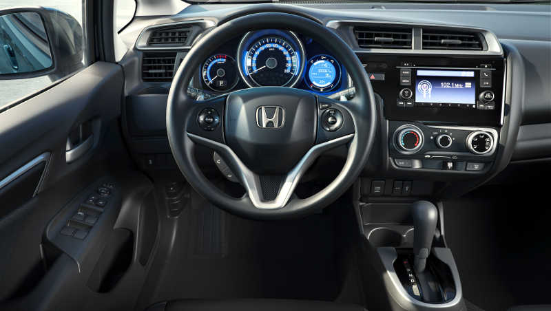 Painel do Honda Fit EX 2018