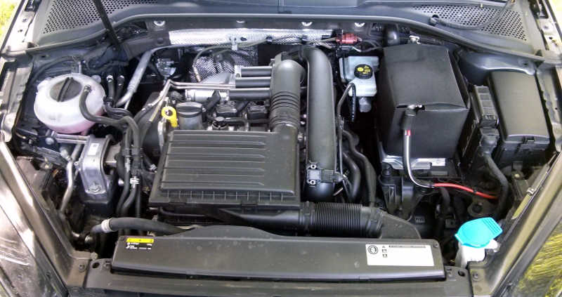 Motor 1.2 TSI turbo do Volkswagen Golf Bluemotion