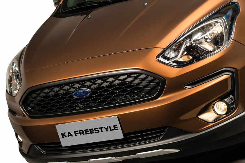 Ford Ka FreeStyle 2019 tem novo visual