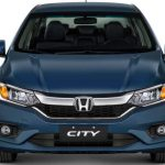 Visual da dianteira do Honda City EX 2018
