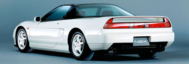 Honda NSX era o carro favorito do Ayrton Senna