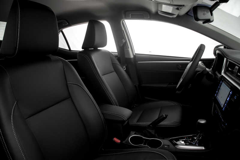 Interior do Toyota Corolla XEi 2019