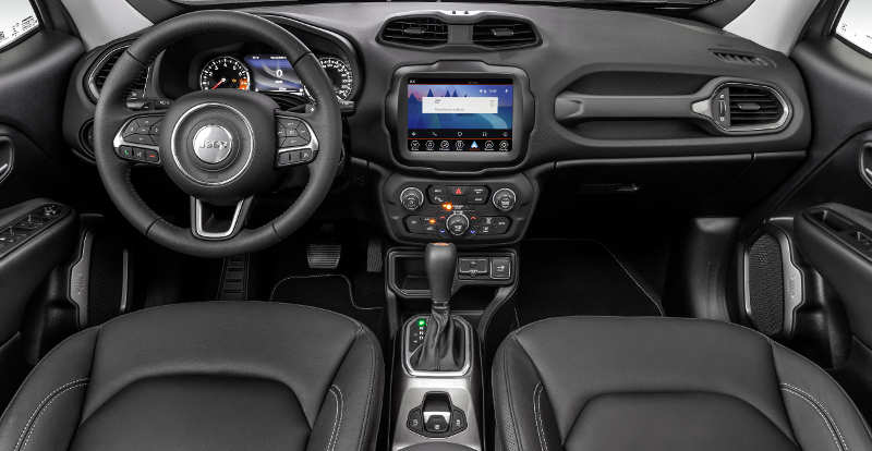 Painel do Jeep Renegade Limited automático 2019