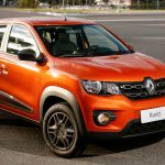 Dianteira do Renault Kwid Intense