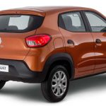Traseira do Painel do Renault Kwid Life