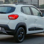 Traseira do Renault Kwid Outsider