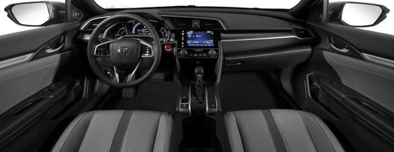 Painel do Honda Civic EXL 2020