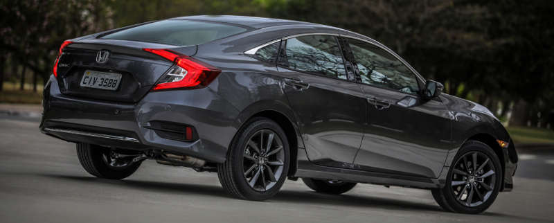 Visual do Honda Civic EXL 2020