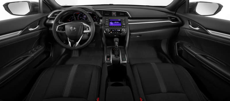 Painel do Honda Civic LX 2020