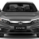 Dianteira do Honda Civic EXL 2020