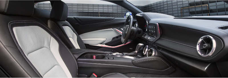Interior do Chevrolet Camaro SS V8 2020