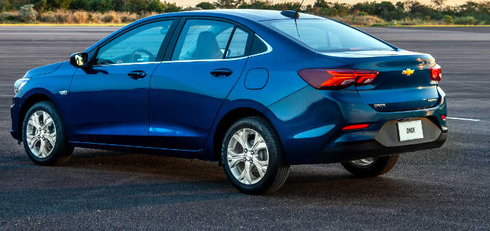 Chevrolet Onix Plus 2021 capa