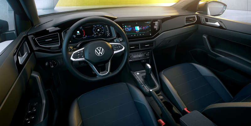 Painel do Volkswagen Nivus Highline