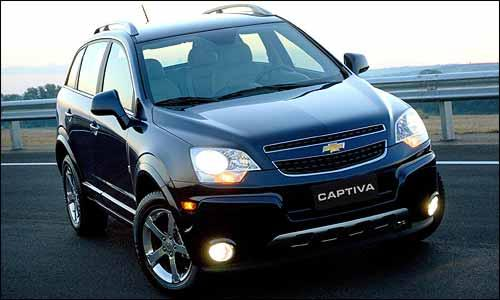 Chevrolet+Captiva+2009+2010+SUV+General+Motors