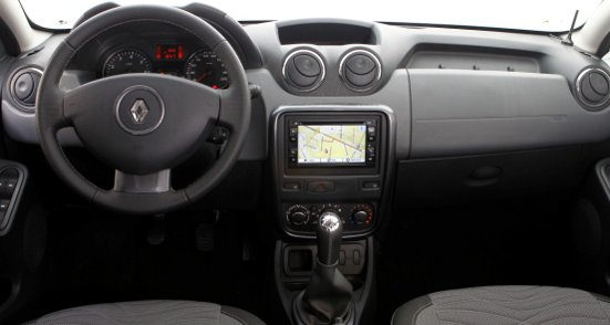 Renault+Duster+2013+GPS-painel-interior