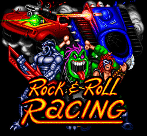Rock+N+Roll+Racing+jogo+game+Super+Nintend+Mega+Drive+Genesis+logo