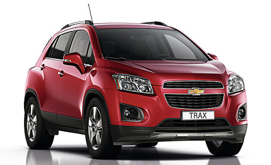 Chevrolet Trax Enjoy SUV mini Captiva Tracker
