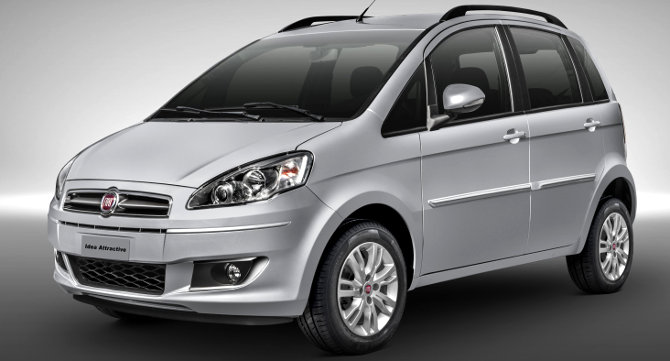 Fiat Idea Attractive 2014