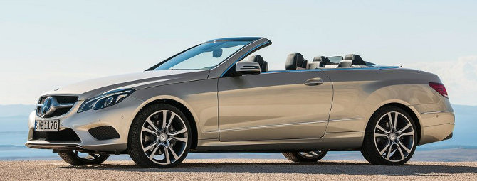 Mercedes-Benz E Class Coupe Cabriolet 2014 lateral