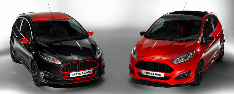 Ford-New-Fiesta-Red-Black-Edition