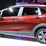 Lateral do Honda WR-V