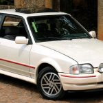 Foto do Ford Escort XR3 do BookAclassic